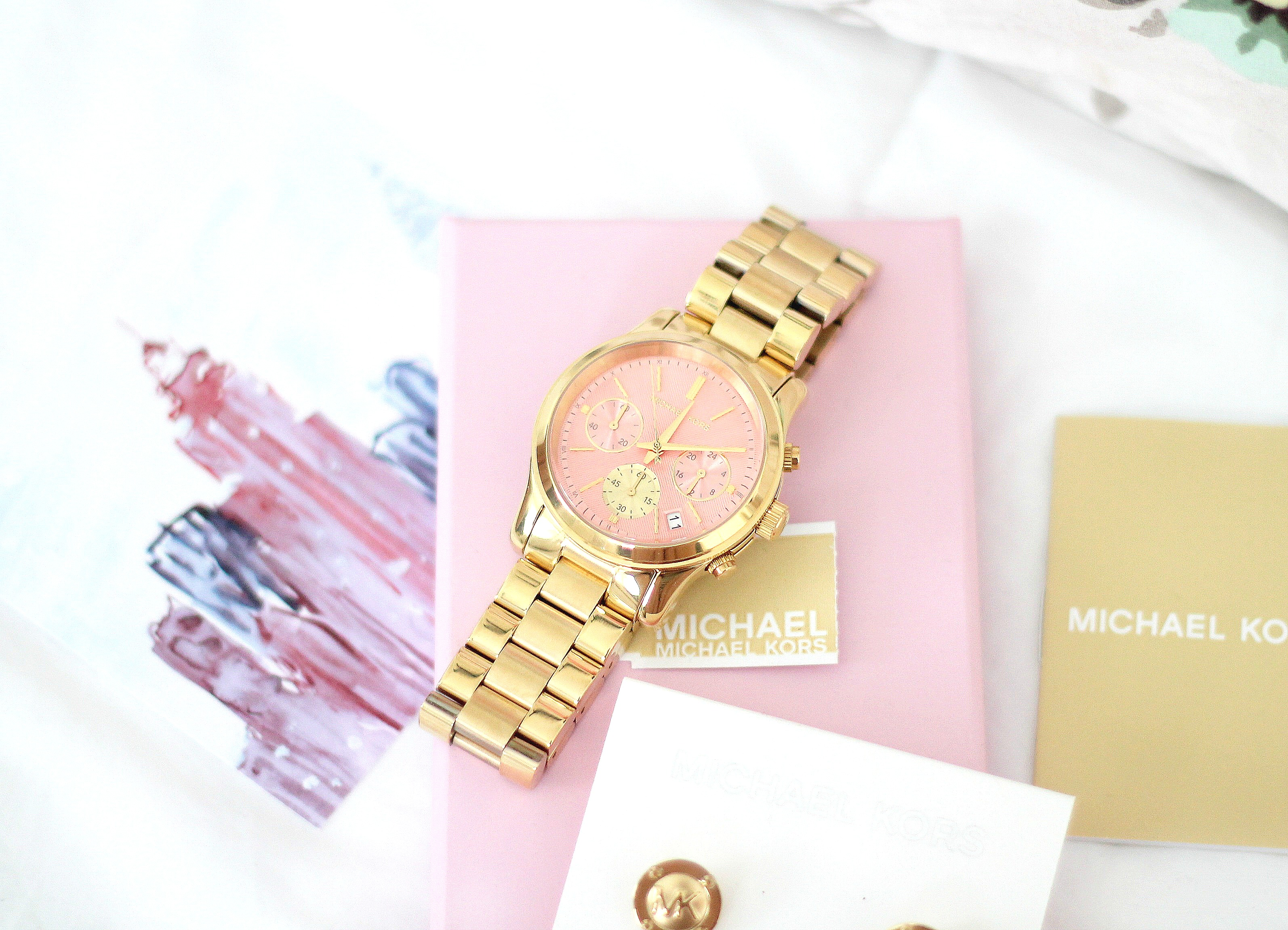 Michael Kors watch gold