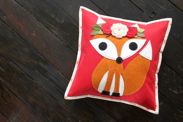 New Fox Pillow