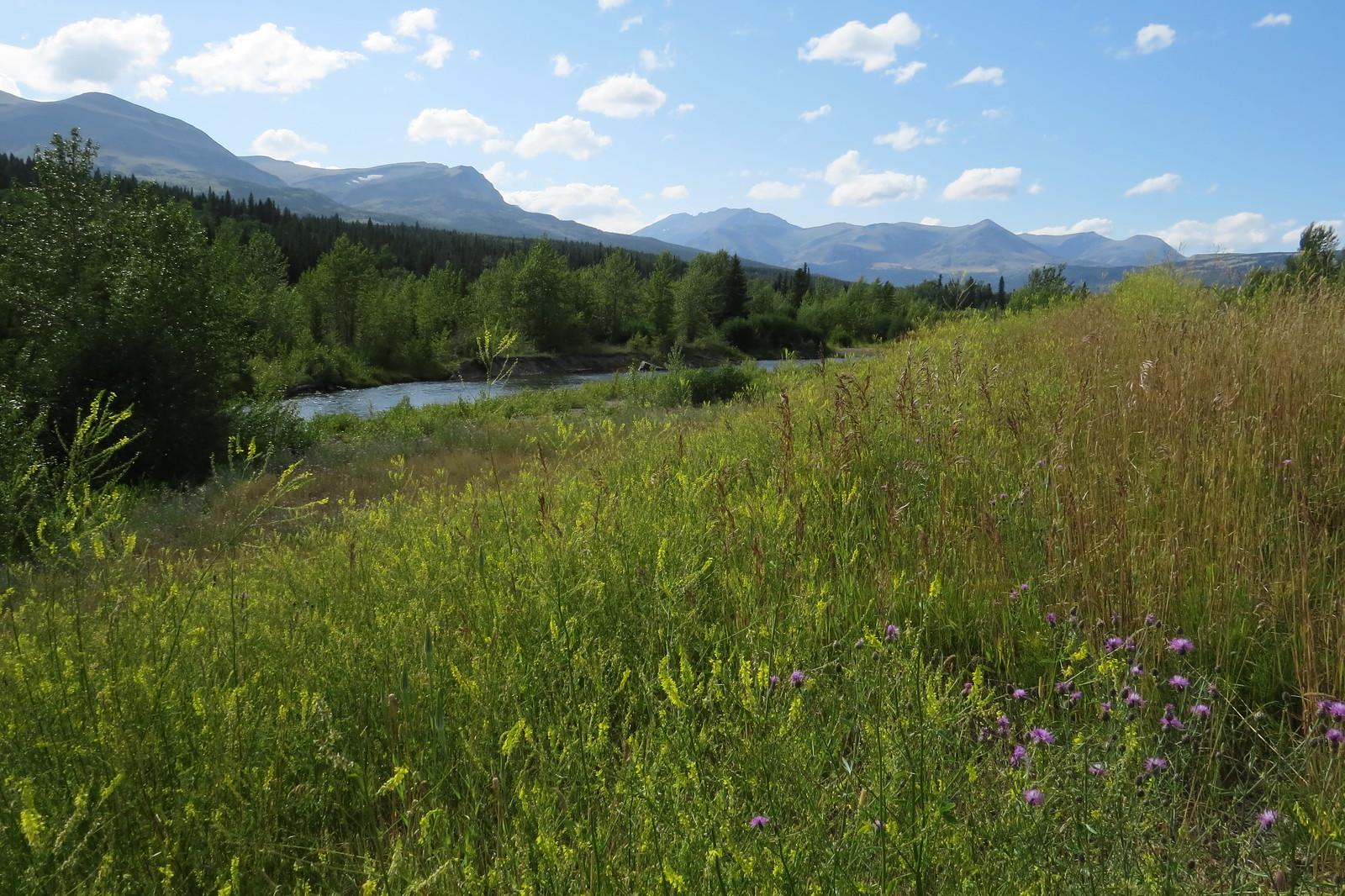 Two Medicine River, Blackfeet Glacier, Montana