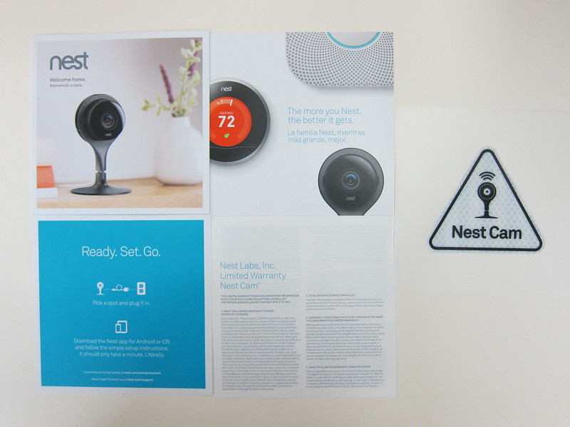 Nest Cam - Booklets