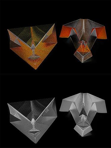 Origami 'Darth Vader'