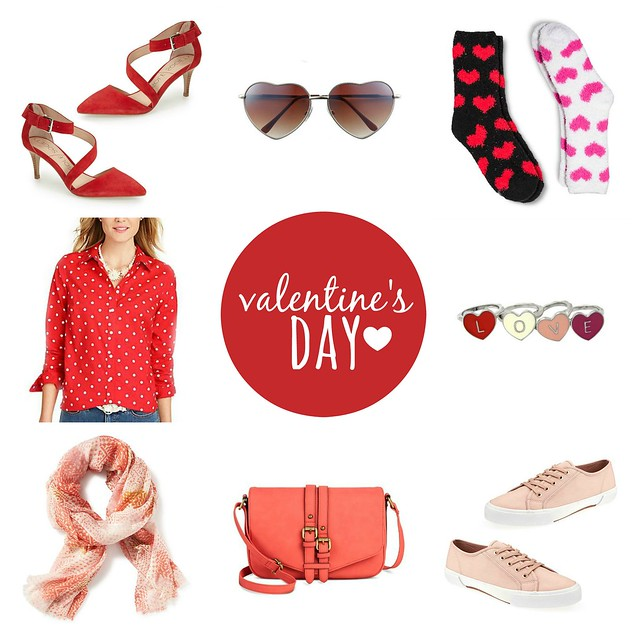 on trend valentine's day; Style On Target; red, pink, and heart