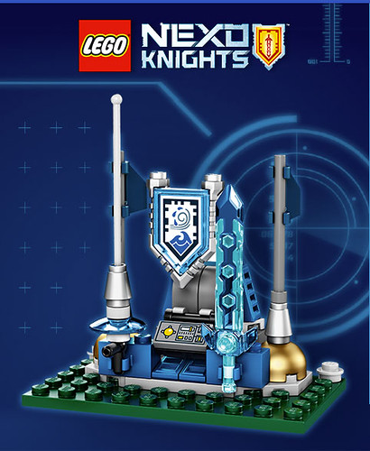 LEGO Nexo Knights Shield Dock