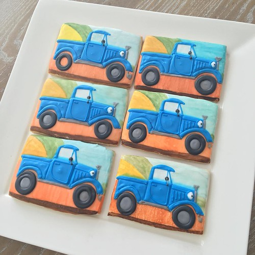 Little Blue Trucks!