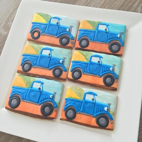 Little Blue Trucks!