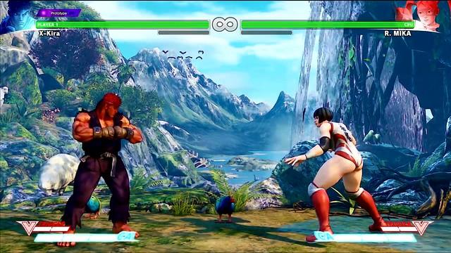 Street Fighter 5 Beta Mod Brings Back R  Mika's Butt Slap   One