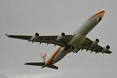 Surinam Airways PZ-TCR Airbus A340-313X cn/242 @ EHAM / AMS Schiphol P30 26-12-2015