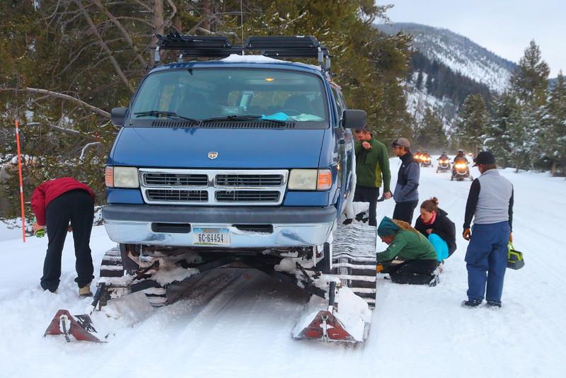 IMG_0525 Repairing Snowcoach