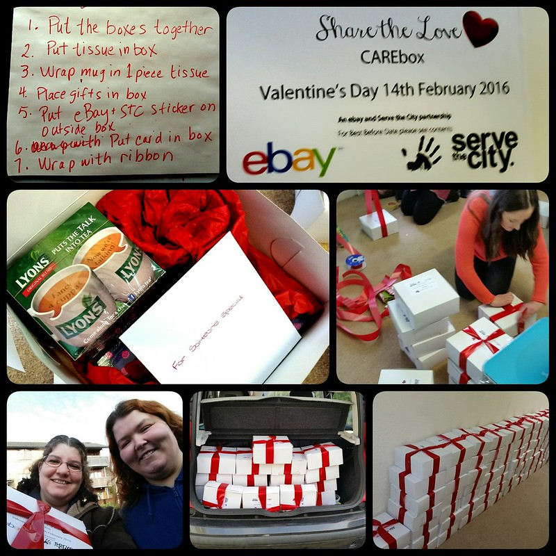 Serve the City 2016 Share the Love Care boxes day