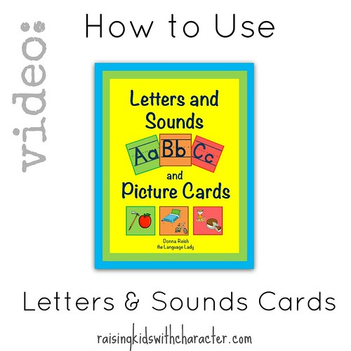 Video: How to Use the ABC Letters and Sounds Picture Cards