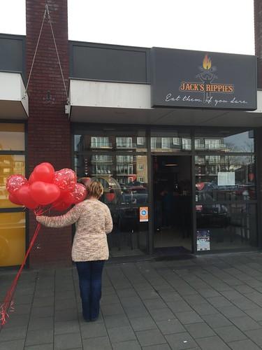 Heliumballonnen Valentijn Jacks Rippies Spijkenisse