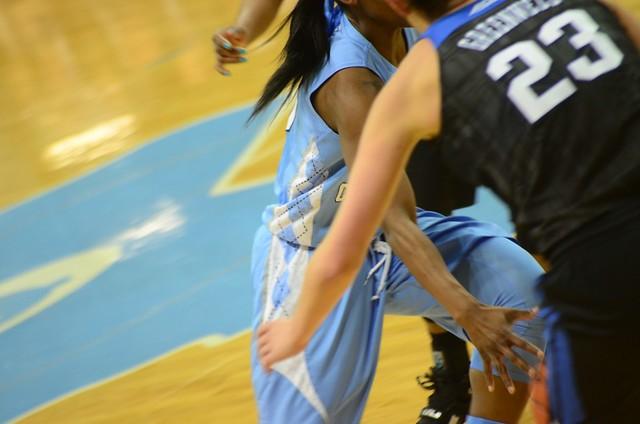 basketball: duke @ unc