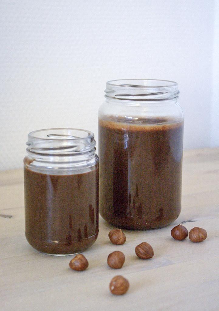 Hjemmelavet chokoladepålæg aka nutella