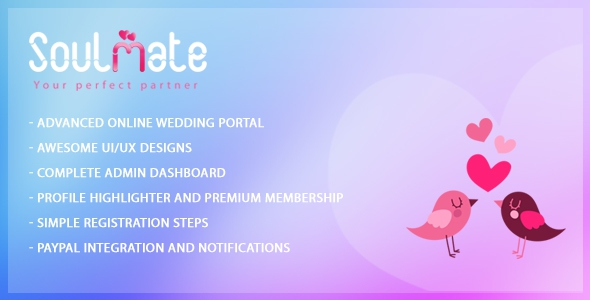 Soulmate - Matrimonial Portal (Update: 18 February 16)