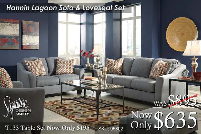 Hanin Lagoon Living Set