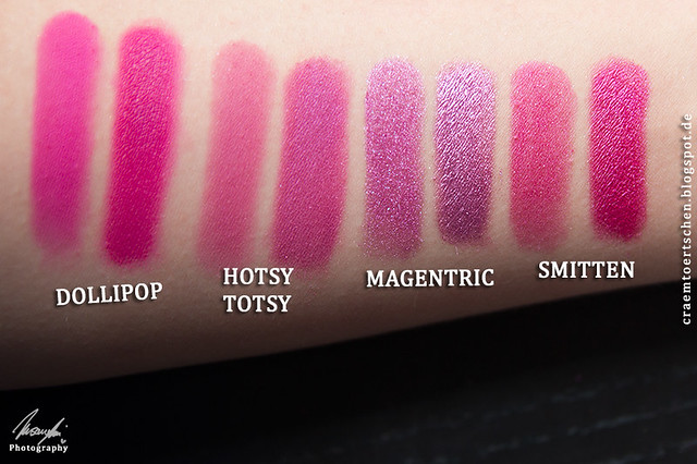 Pinky Swatches