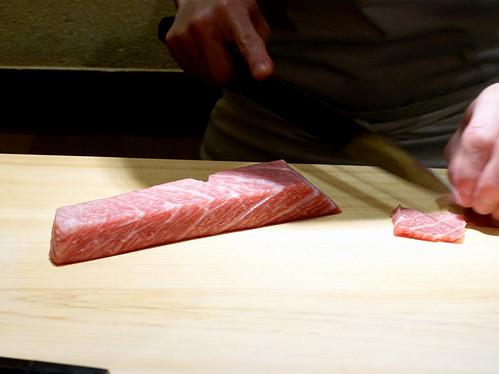 Sushi Iwa Ginza- Otoro (Supreme Tuna Belly)
