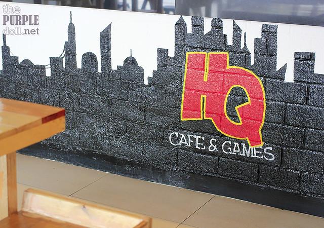 Headquarters Cafe and Games Katipunan