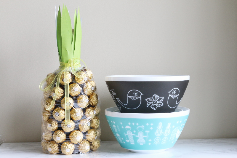 Vintage Charm bowls inspired by Pyrex, opal dish, printed bowls