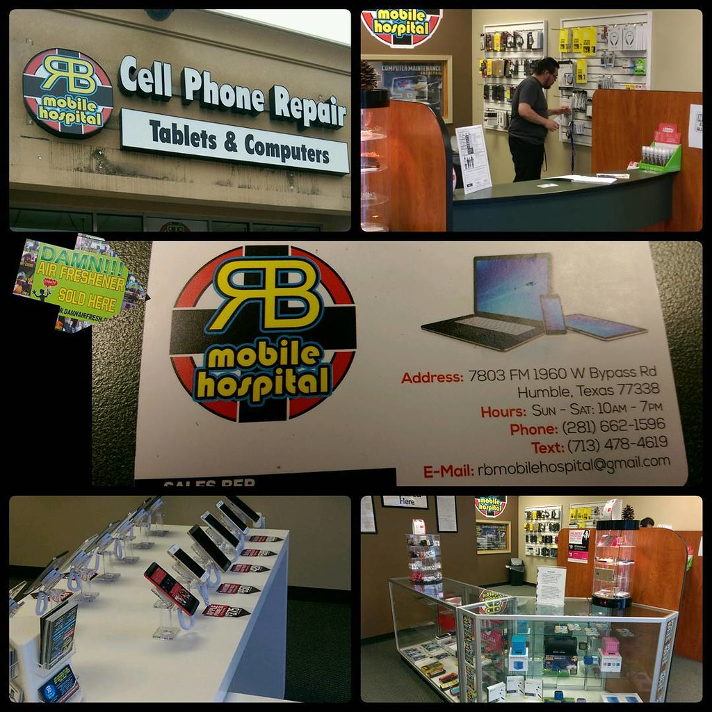Phones, sales & services here at RB Mobile Hospital  Stop