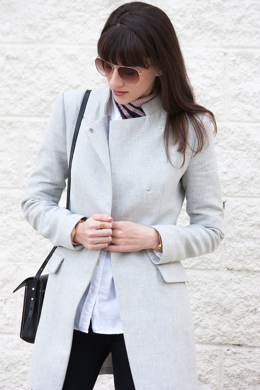Light Grey Spring Coat