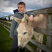Joshua and Donkey by Margaret Urban