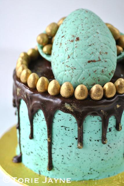 Gluten Free Chocolate layered Easter Cake Recipe 8