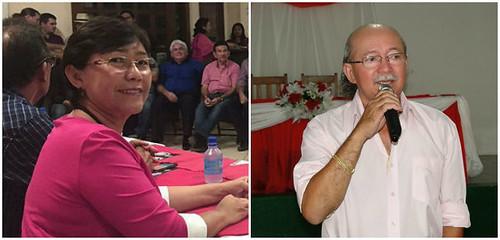 Santarém poderá ter dois doutores na eleição para prefeito deste ano, Socorro Pena e Edivaldo Bernardo