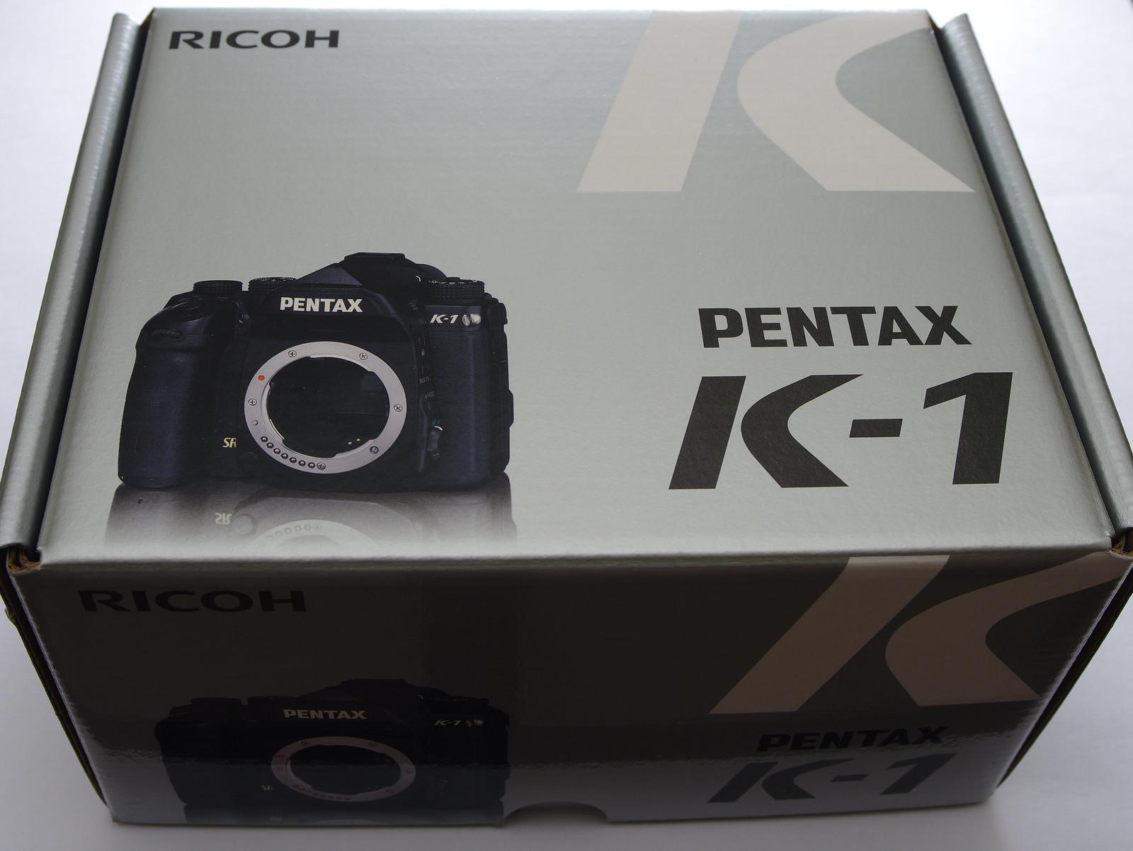 熱騰騰的Pentax K-1 開箱