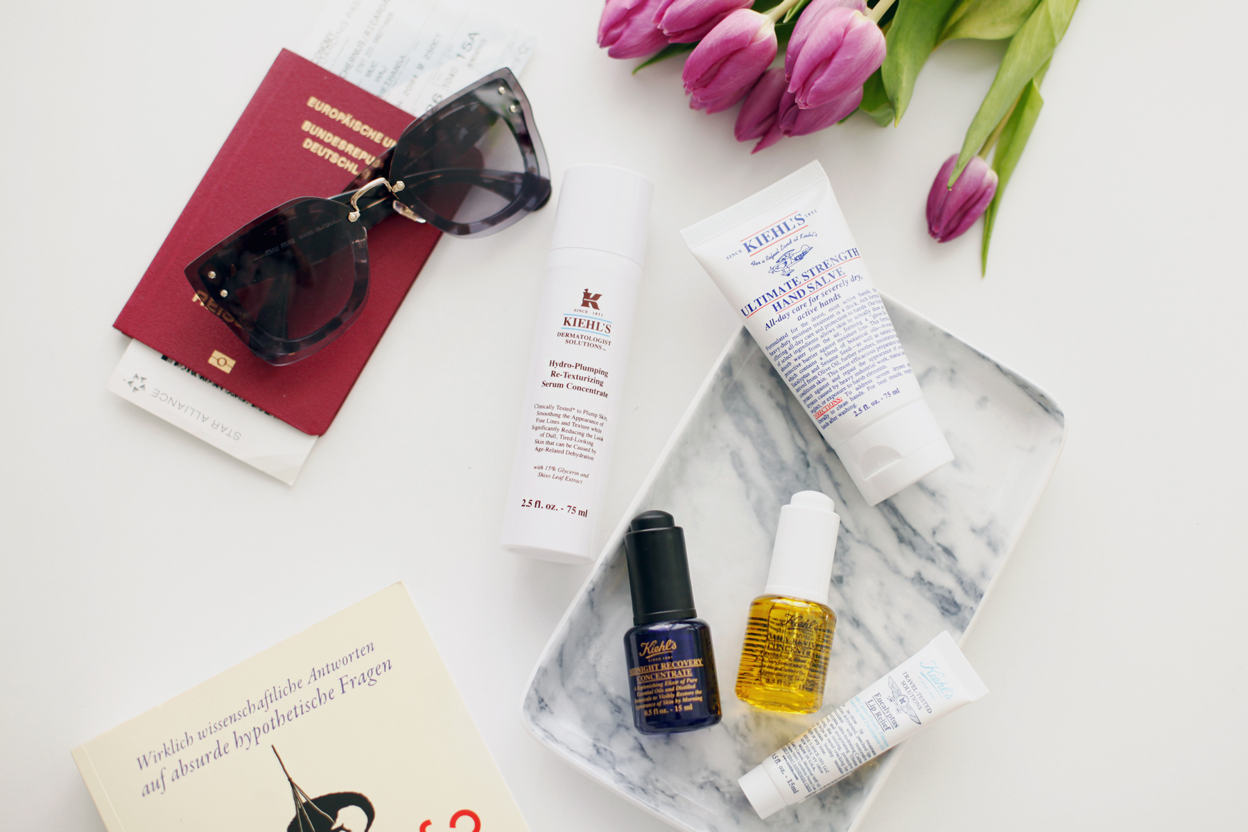 kiehl's travel essentials reise new york city world of kiehl's travelling miniature beauty beautyblogger handgepäck hand luggage sunglasses miu miu beauty tipps und tricks daily revival cats & dogs ricarda schernus beautyblogger düsseldorf 6