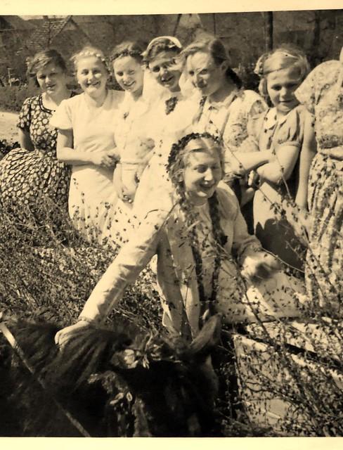 Maikönigin 1.Mai 1937