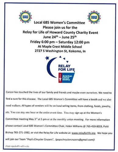 Relay for Life Local 685 Womens Comm revised 4-8