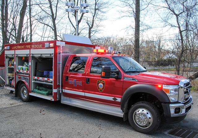 Larchmont Fire Department New Rescue 1