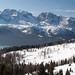 Pohled z Monte Vigo na Brentu