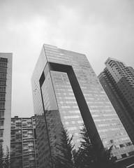 Edificios en Santa Fe. 🌎Ciudad de México, México.