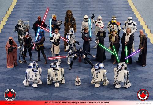 2011 - FanExpo Clone Wars