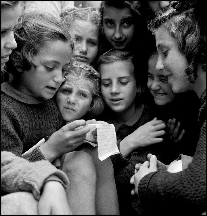 大衛·西蒙 David Seymour – 以小孩為中心的戰地攝影師4
