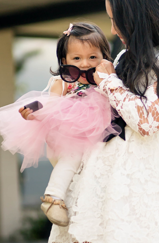 cute & little blog | toddler girl pink floral tutu dress, freshly picked mocassins | spring outfit