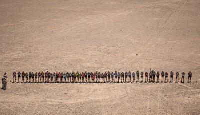 Vabroušek úspěšně dokončil Marathon de Sables