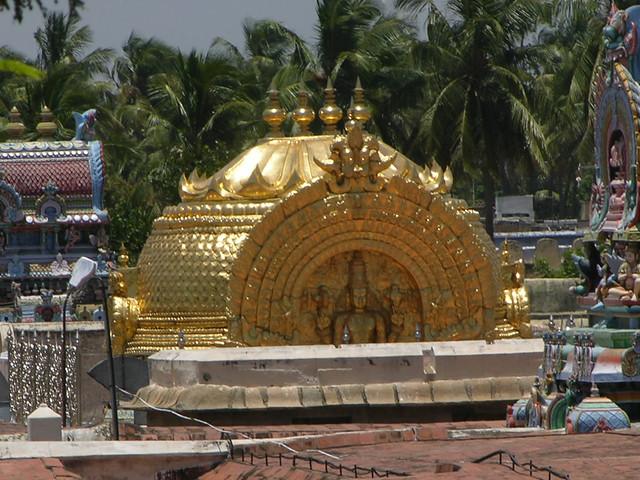 Sancta Sanctorum del templo hindú Sri Ranganathaswamy