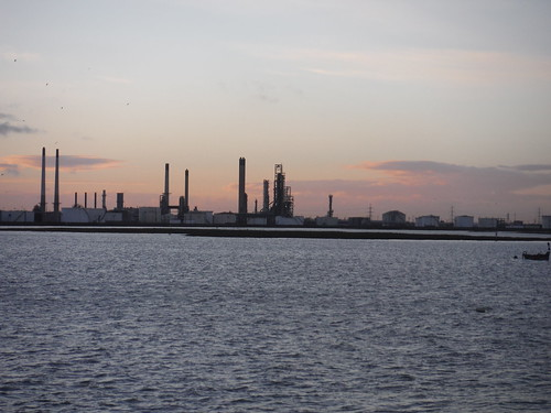Coryton Oil Refinery, from Canvey Island