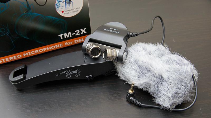 Tascam TM-2X麥克風