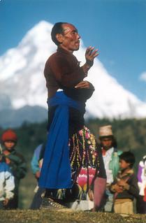 Nepal Village Man Pun Mugger Dance Bonanza READ
