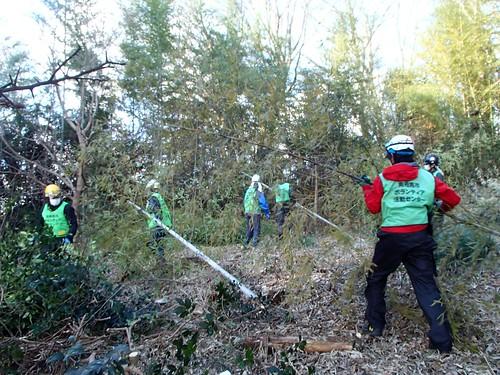 南相馬市小高区(避難指示解除準備区域)で災害ボランティア(援人 1225便)