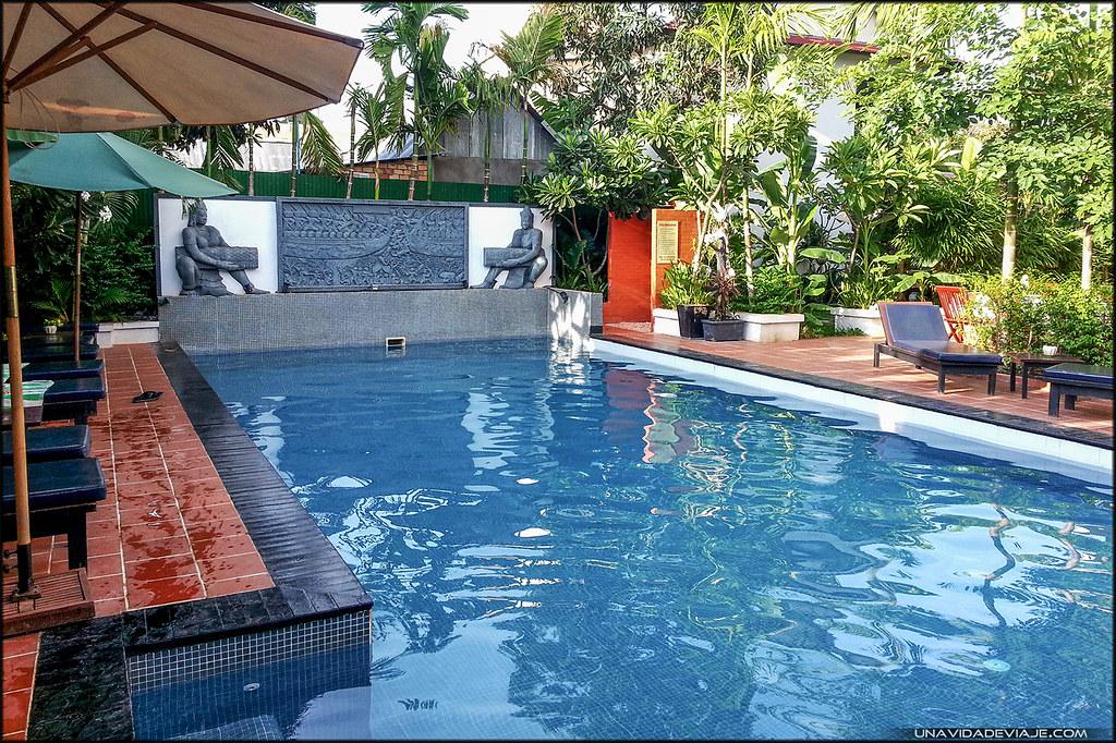 piscina Camboya