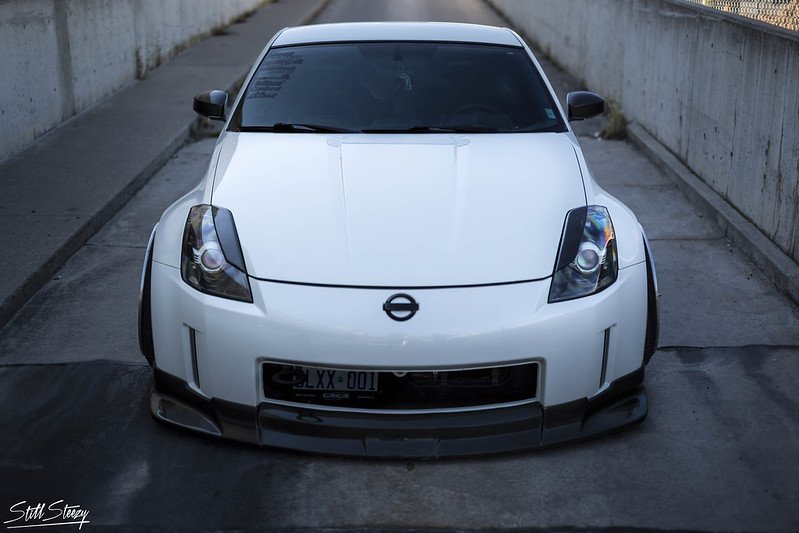 White Z shoot