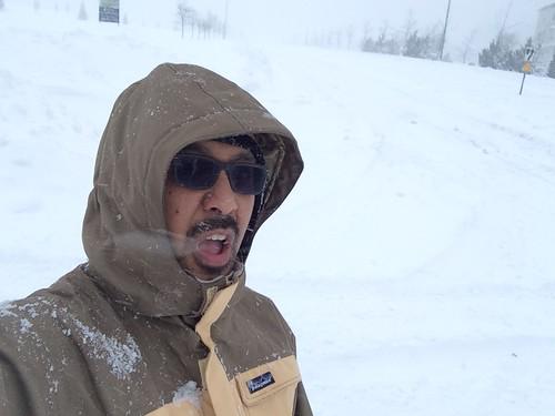 Snowmageddon Selfie.