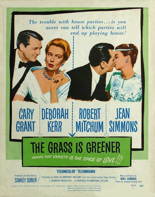 The Grass Is Greener - Poster 1