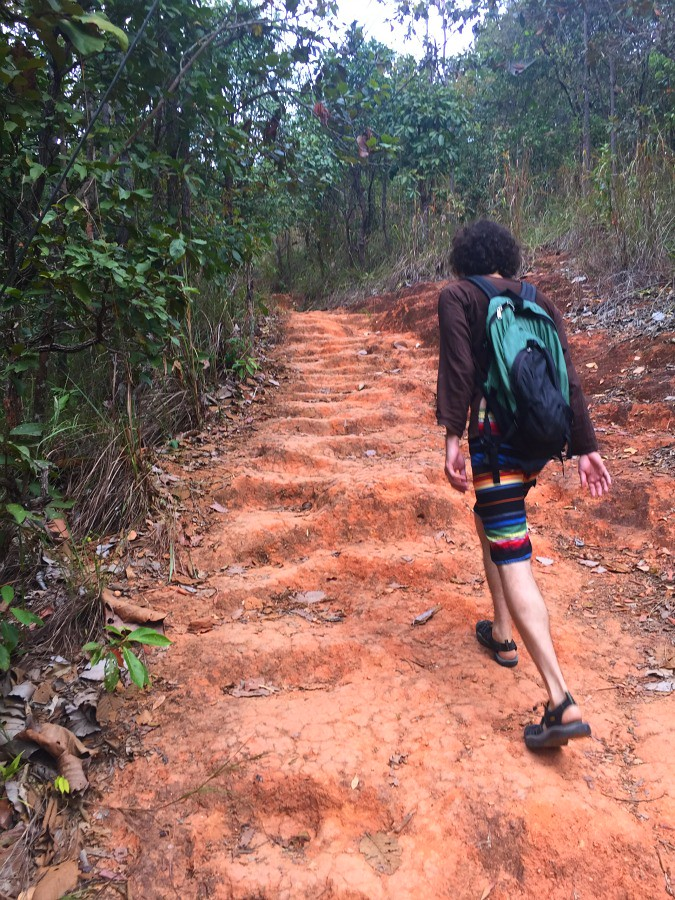 Clay path to Doi Suthep