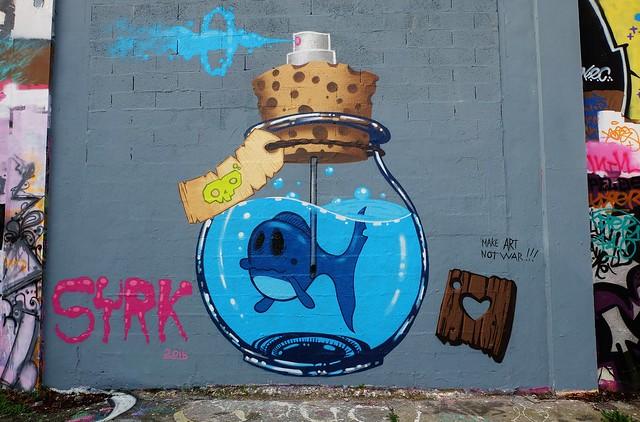 La Rochelle, Graffiti Le Gabut